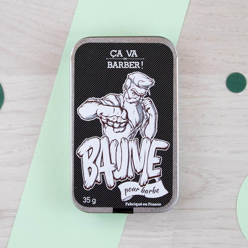 Baume pour barbe - à la Régulière Ça va barber ! | GreenMeow