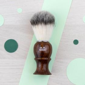 Blaireau rasage - poils synthétiques