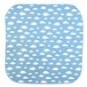 Mouchoir small Bleu ciel motifs nuage Koshi GreenMeow
