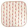 Mouchoir small Beige motifs baigneuse Koshi | GreenMeow