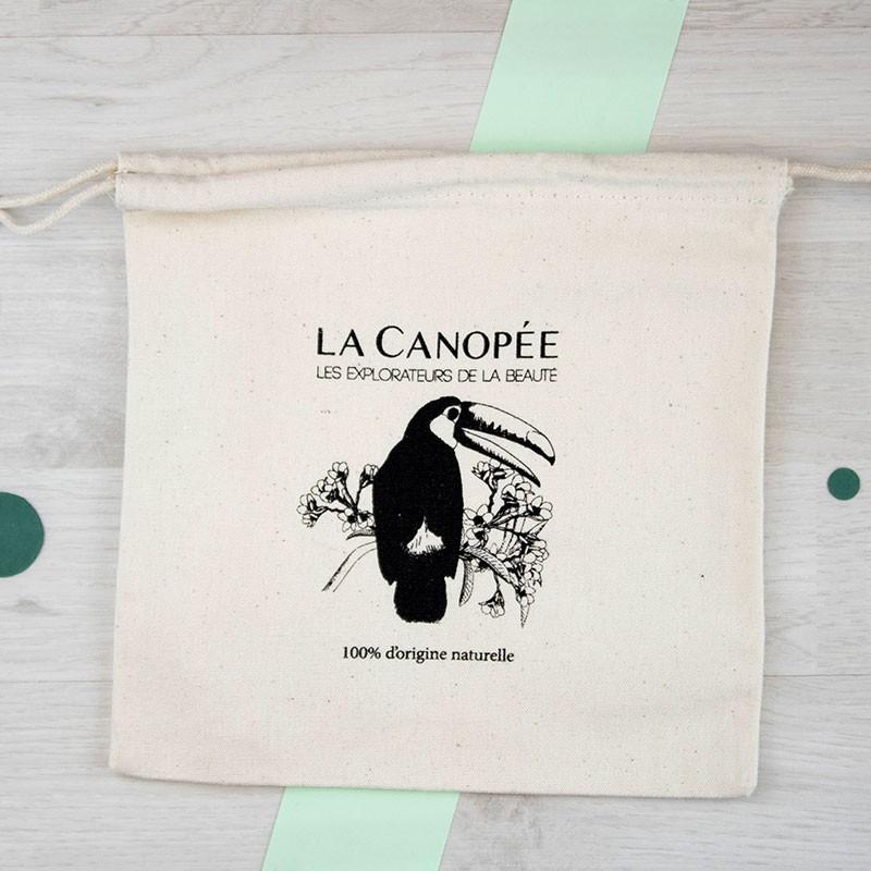 Pochon en coton - 5 animaux différents La Canopée | GreenMeow
