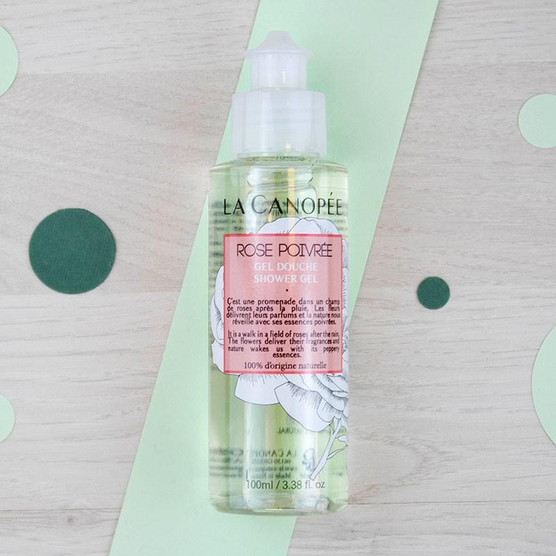 Gel douche Rose poivrée - 100 ml La Canopée | GreenMeow