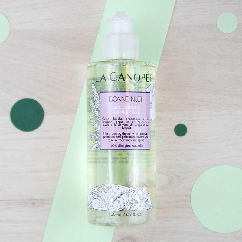 Gel douche Bonne nuit - 200 ml La Canopée | GreenMeow