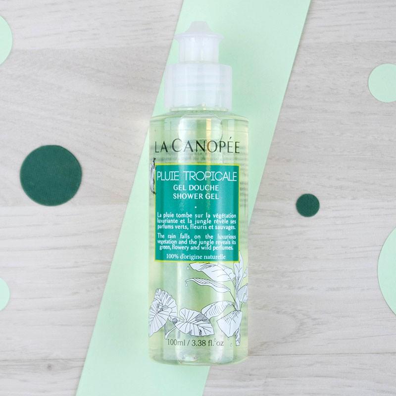 Gel douche Pluie tropicale - 100 ml La Canopée | GreenMeow