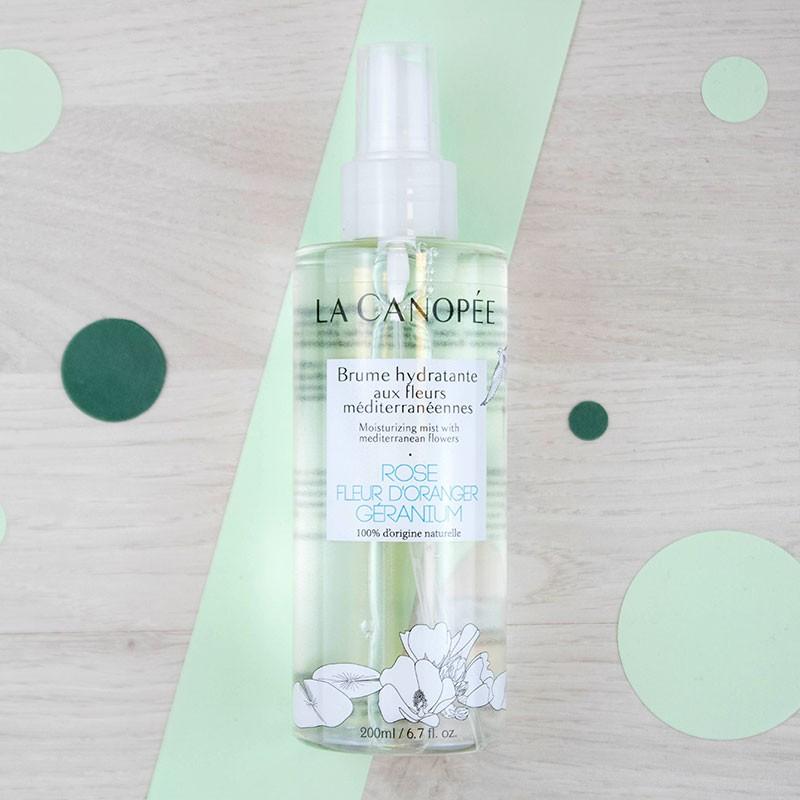 Brume hydratante aux fleurs méditerranéennes La Canopée | GreenMeow