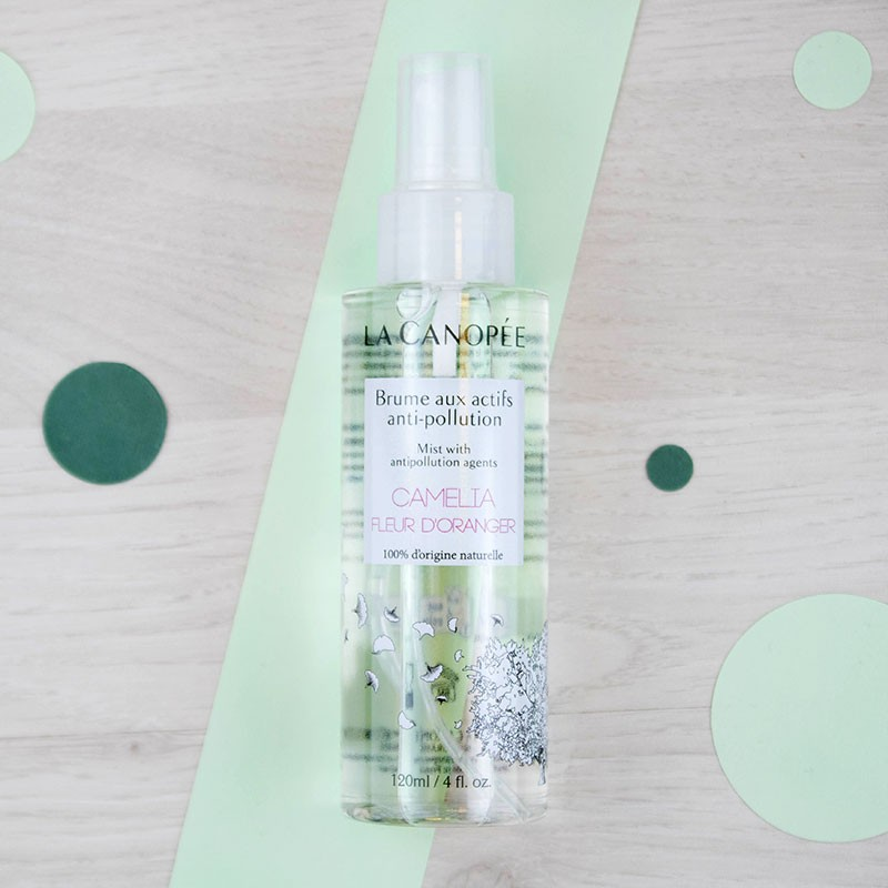 Brume aux actifs anti-pollution La Canopée | GreenMeow
