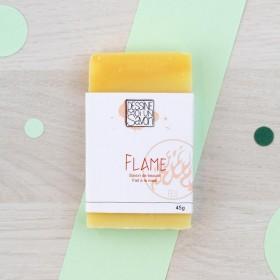 Mini savon Flame - Litsée citronnée et Petit grain bigarade