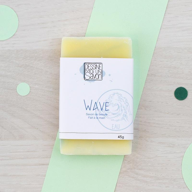 Mini savon Wave Dessine moi un savon | GreenMeow