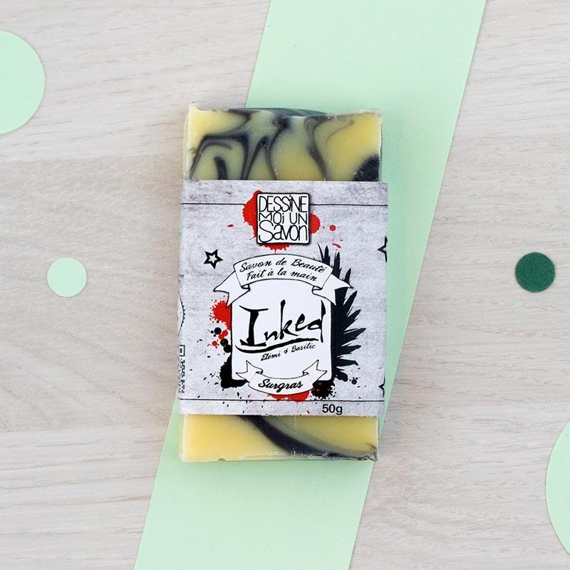 Mini savon Inked Dessine moi un savon | GreenMeow