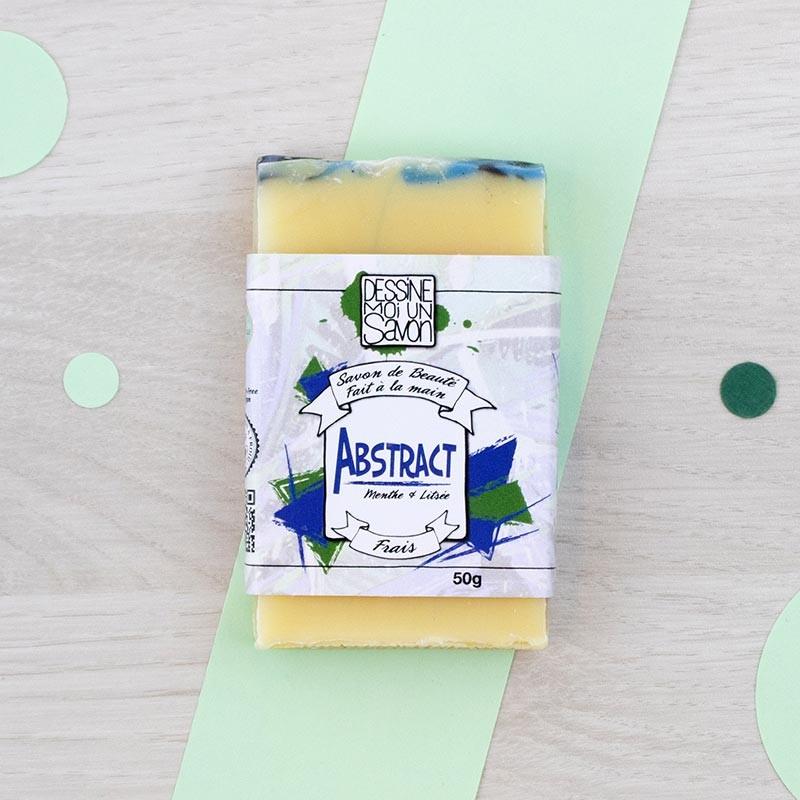 Mini savon Abstract Dessine moi un savon | GreenMeow