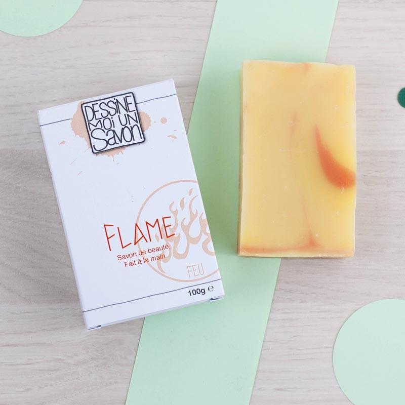 Flame Savon Dessine moi un savon | GreenMeow