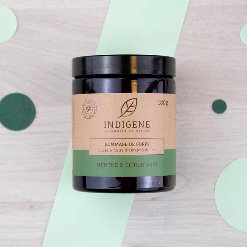 Gommage Corps Menthe Citron vert Indigène | GreenMeow