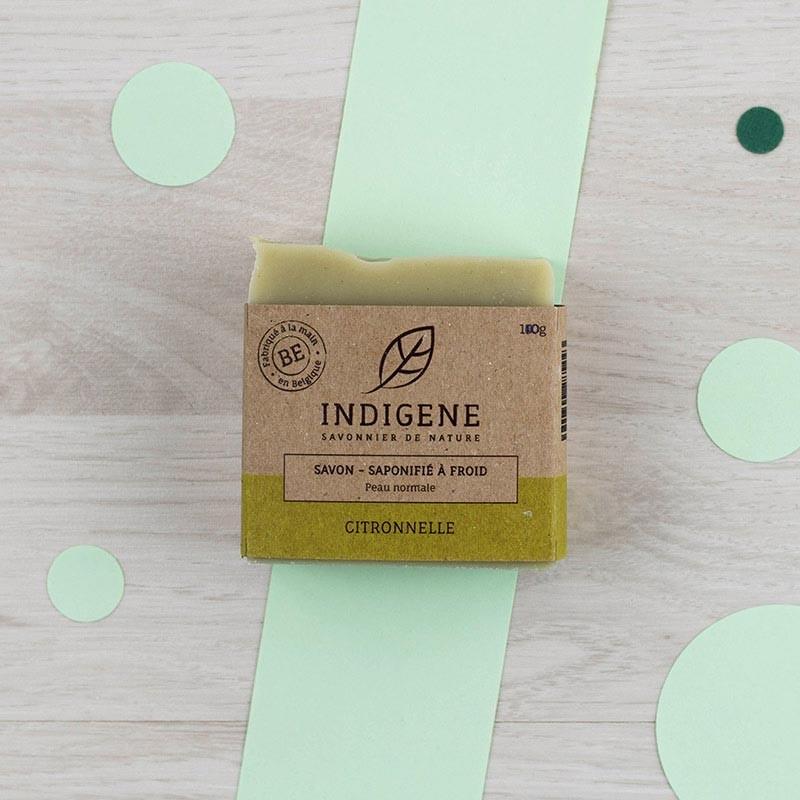 Savon Citronnelle Indigène | GreenMeow