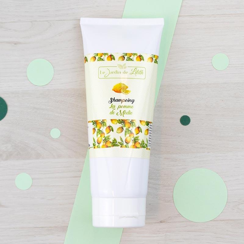 Shampoing crème La pomme de Médie Le Jardin de Lilith | GreenMeow
