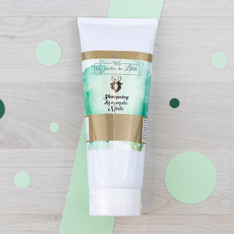 Shampoing crème La Nymphe Minta Le Jardin de Lilith | GreenMeow
