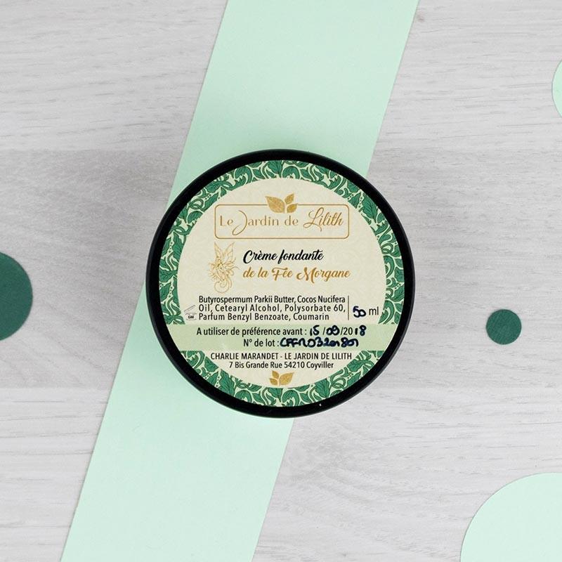 Crème fondante de la Fée Morgane Le Jardin de Lilith   GreenMeow