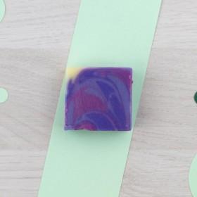 Mini Savon Invité Fleur d'Hiver - Violette sucrée