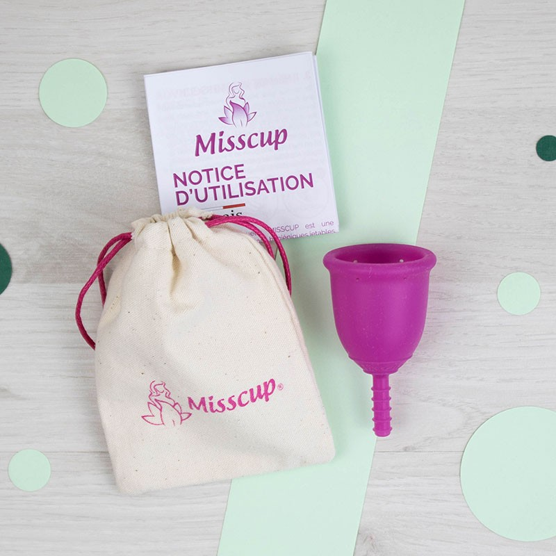 Cup féminine Rose Misscup | GreenMeow
