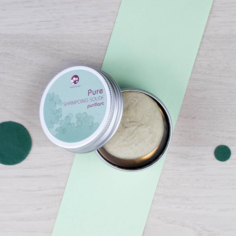 Shampoing solide Pure voyage Pachamamaï | GreenMeow