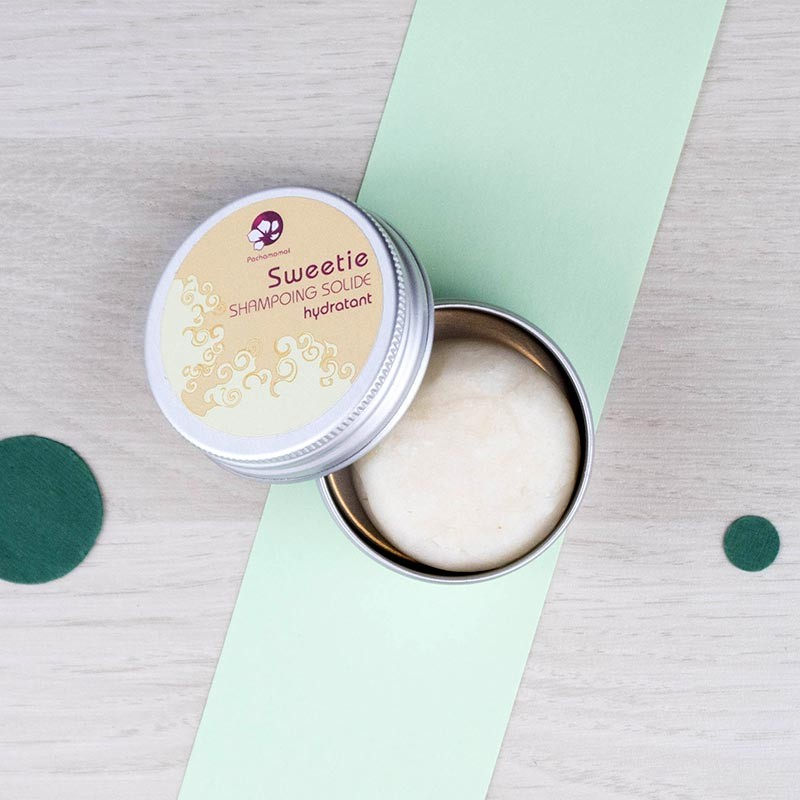 Shampoing solide Sweetie voyage Pachamamaï | GreenMeow