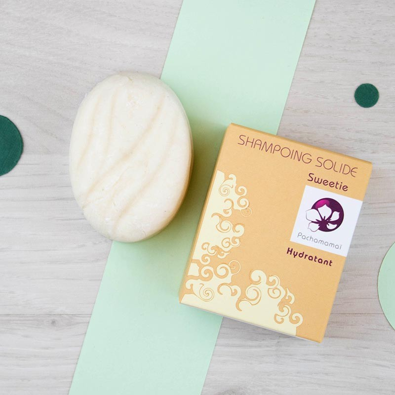 Shampoing solide Sweetie Pachamamaï | GreenMeow