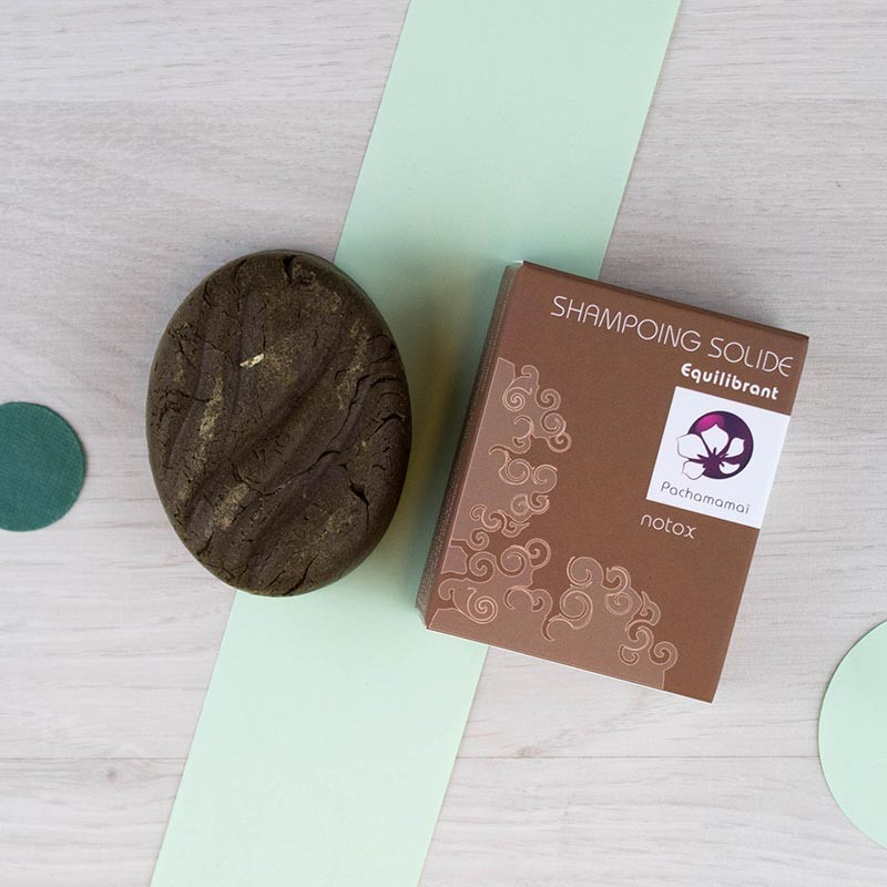 Shampoing solide Notox Pachamamaï | GreenMeow