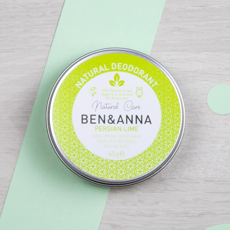 Déodorant baume naturel Persian Lime - Ben & Anna | GreenMeow