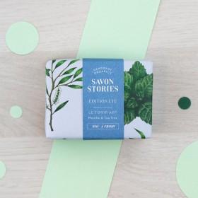 Savon édition Été Le tonifiant - Menthe & Tea Tree