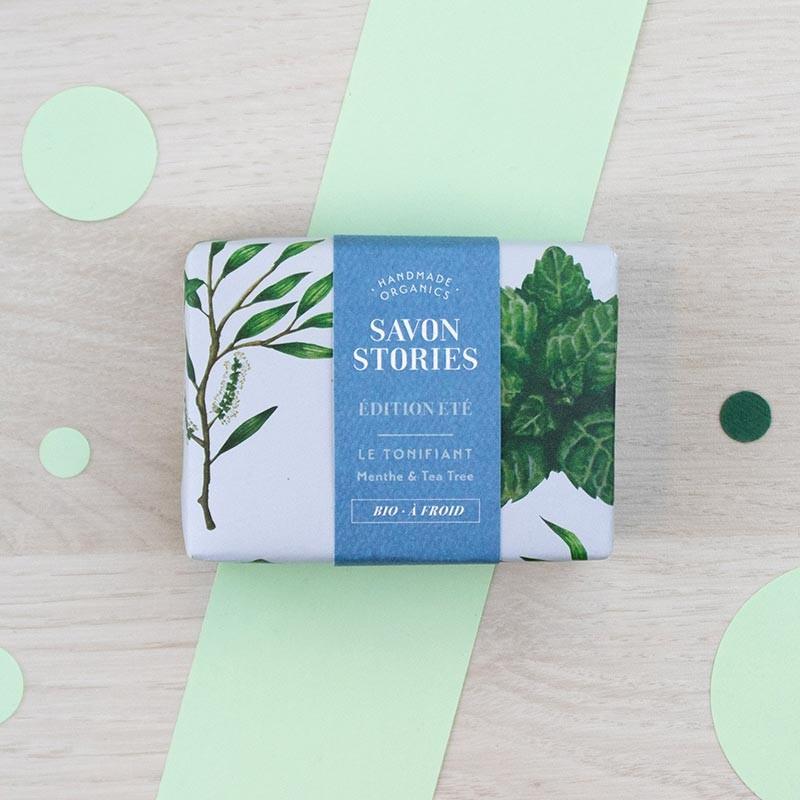 Savon édition Été Le tonifiant Savon Stories | GreenMeow