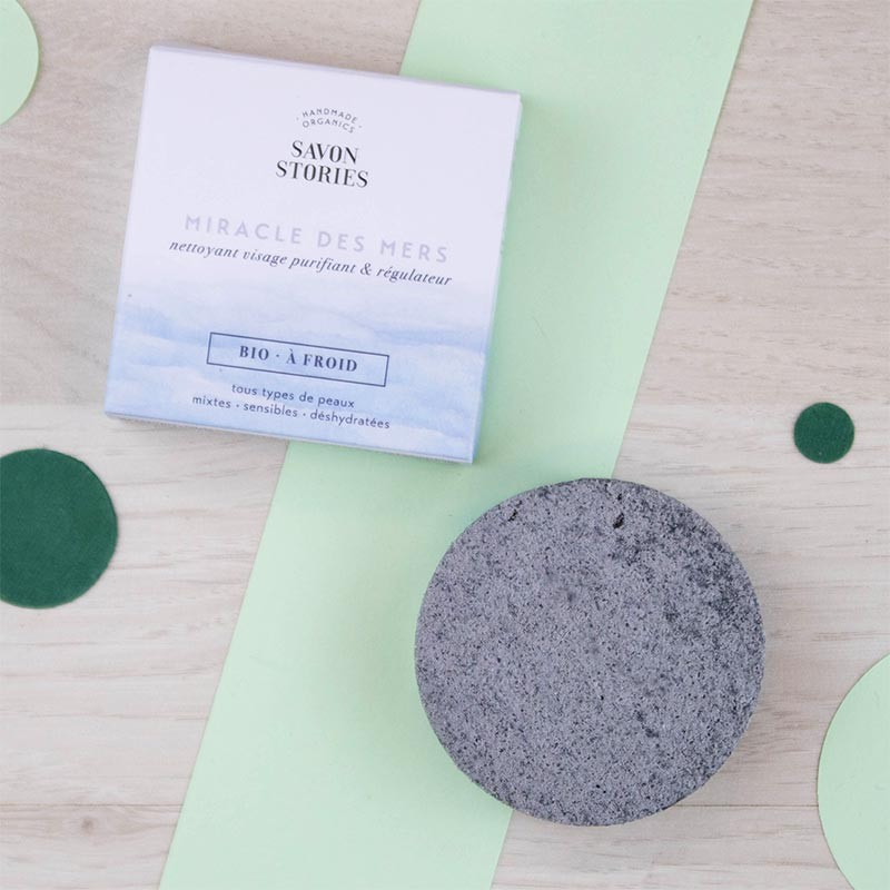 Miracle des Mers Nettoyant visage solideSavon Stories | GreenMeow