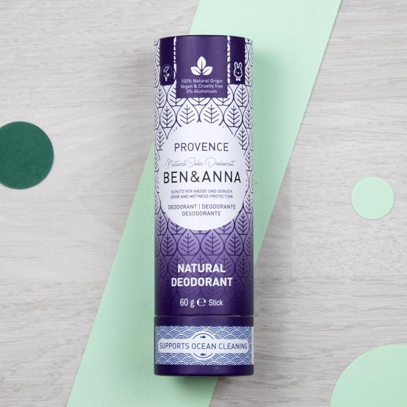 Déodorant stick naturel - Provence - Ben & Anna   GreenMeow