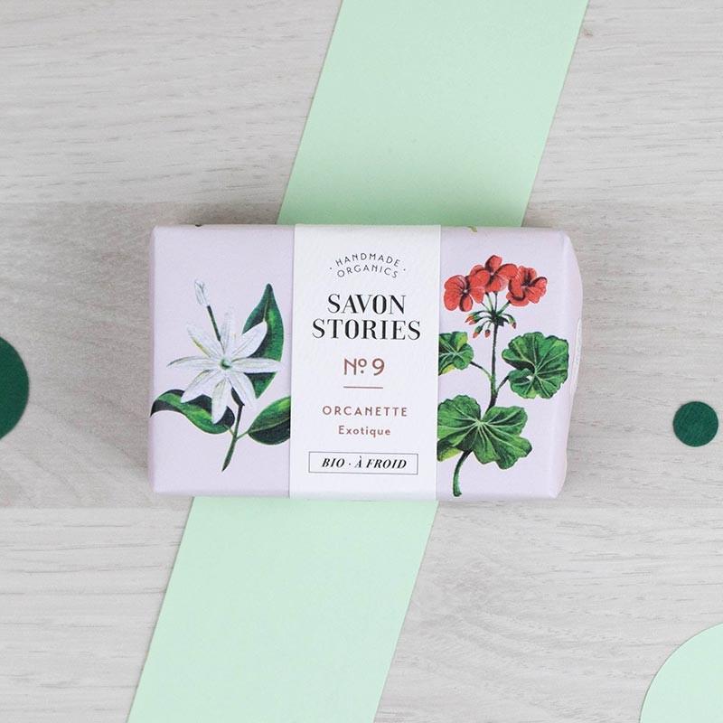 Savon n°9 Le relaxant Orcanette Savon Stories | GreenMeow