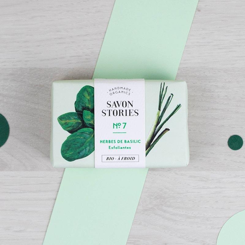 Savon n°7 Herbes de Basilic Savon Stories | GreenMeow
