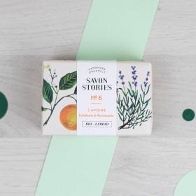 Savon n°6 Le doux - Avoine - Orange, Lavande & Patchouli