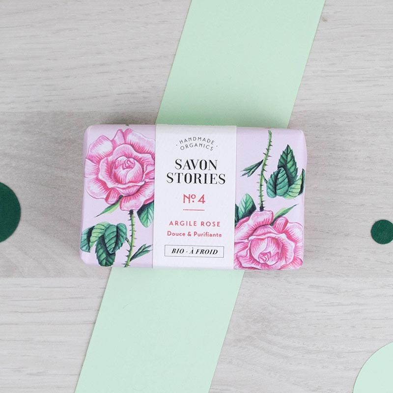 Savon n°4 Le vivifiant - Rose musquée Savon Stories | GreenMeow