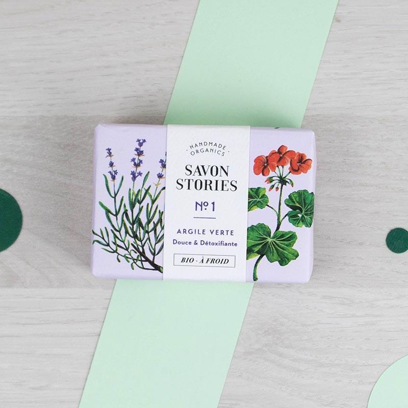 Savon n°1 L'équilibrant Savon Stories | GreenMeow