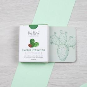 Sérum visage solide Cactus Hydratation - à l'huile de figue de Barbarie