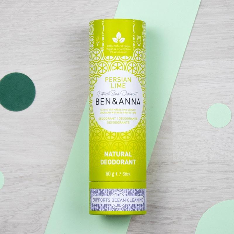 Déodorant stick naturel - Persian Lime - Ben & Anna | GreenMeow