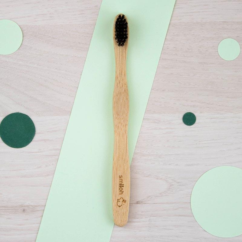 Brosse à dents en bambou Enfant Smiloh | GreenMeow