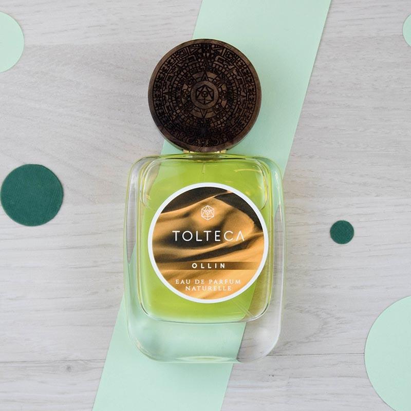 OLLIN parfum vegan Tolteca | GreenMeow
