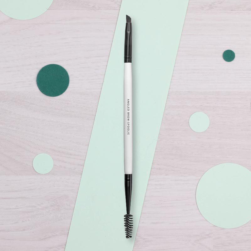 Pinceau Angled Brow Spoolie Lily Lolo | GreenMeow