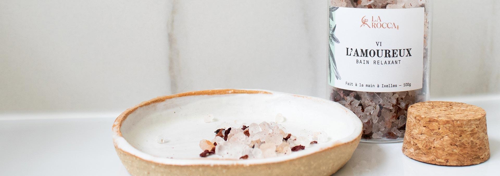 nouveautés sels de bain La Rocca